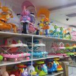 Verschillende soorten babyspeelgoed